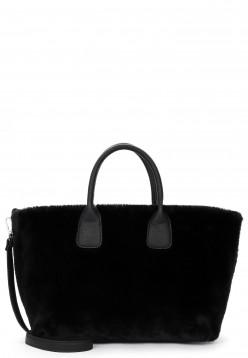EMILY & NOAH Shopper Diana mittel Schwarz 62421100 black 100