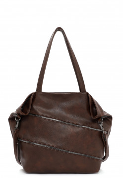 Sina Jo Shopper Käthe groß Braun 893200 brown 200