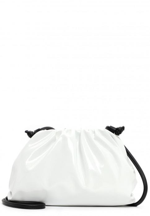 Tamaris Bügeltasche Cynthia  Weiß 31021399 white-Lack 399