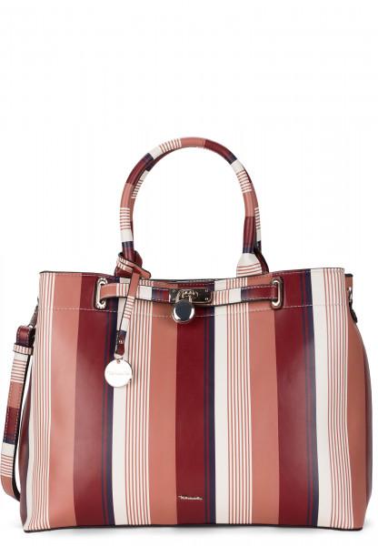 Tamaris Shopper Astrid mittel Rot 30351615 red-stripes 615