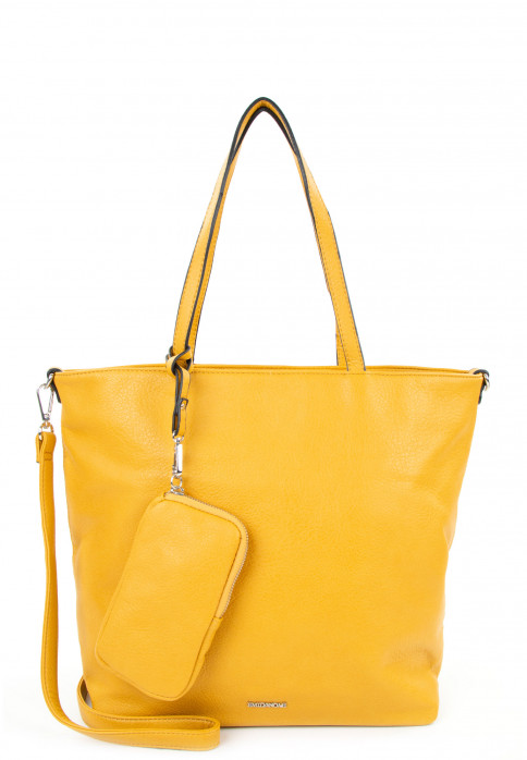 EMILY & NOAH Shopper Bag in Bag Surprise mittel Gelb 311460 yellow 460