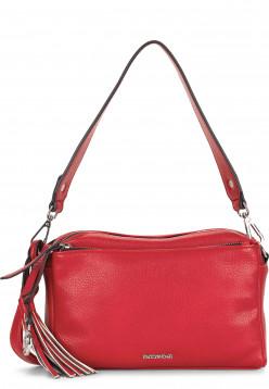 EMILY & NOAH Handtasche mit Reißverschluss Leonie mittel Rot 62081600 red 600