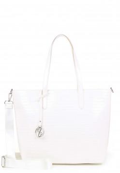 EMILY & NOAH Shopper Leslie mittel Weiß 62203300 white 300