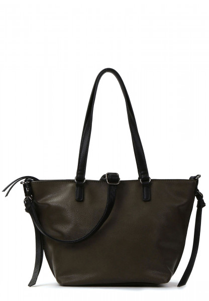 EMILY & NOAH Shopper Bag in Bag Surprise Grün 430931-1790 green/black 931