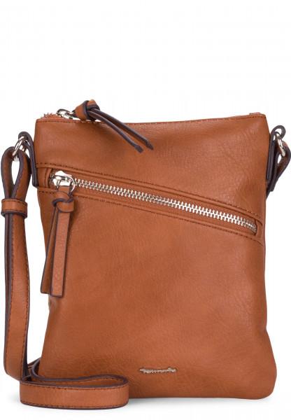 Tamaris Handtasche mit Reißverschluss Alessia mittel Braun 30442700 cognac 700