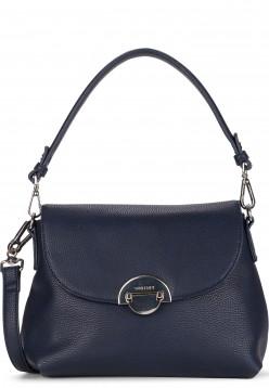 SURI FREY Handtasche mit Überschlag Naency mittel Blau 12312500 blue 500