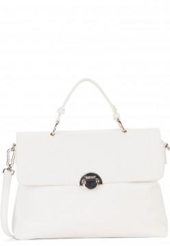 SURI FREY Handtasche mit Überschlag Naency groß Weiß 12313300 white 300