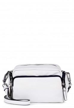 SURI FREY Handtasche mit Reißverschluss Terry groß Weiß 12301300 white 300