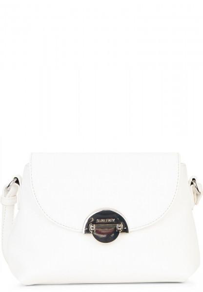 SURI FREY Handtasche mit Überschlag Naency klein Weiß 12311300 white 300