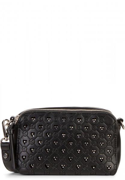 Tamaris Handtasche mit Reißverschluss Antonia klein Schwarz 30360100 black 100