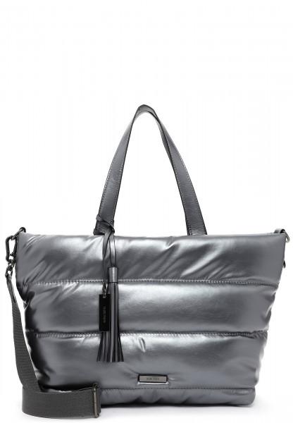 SURI FREY Shopper SURI Black Label Shelley groß Silber 16043833 darksilver 833
