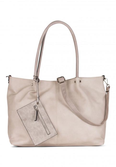 EMILY & NOAH Shopper Bag in Bag Surprise Grau 401828-1790 lightgrey grey 818d