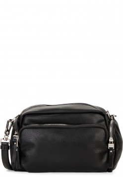 SURI FREY Handtasche mit Reißverschluss Terry groß Schwarz 12301100 black 100