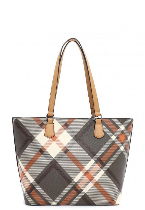 Sina Jo Shopper Karina groß Braun 864250 brown kombi 250