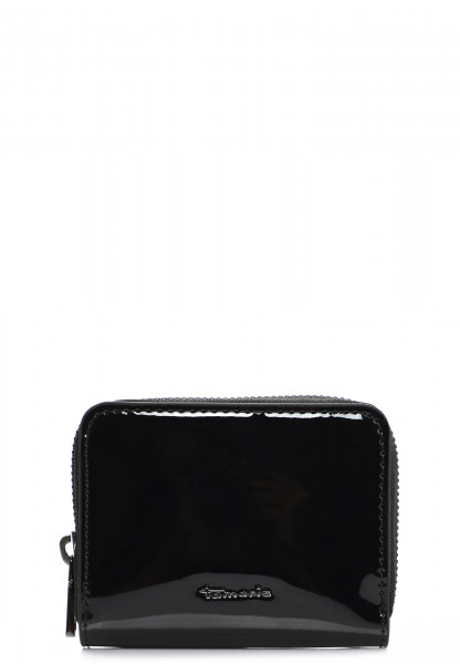 Tamaris Geldbörse mit Reißverschluss Bea  Schwarz 30765199 black-Lack 199