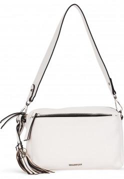 EMILY & NOAH Handtasche mit Reißverschluss Leonie mittel Weiß 62081300 white 300