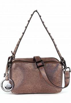 merch mashiah Handtasche mit Reißverschluss Liza  Braun 80040230-1790 copper 230
