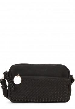 Tamaris Handtasche mit Reißverschluss Amber klein Schwarz 30430100 black 100