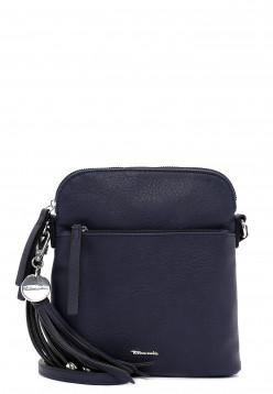 Tamaris Handtasche mit Reißverschluss Adele klein Blau 30471500 blue 500