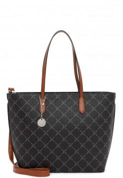 Tamaris Shopper Anastasia groß Schwarz 30107100 black 100