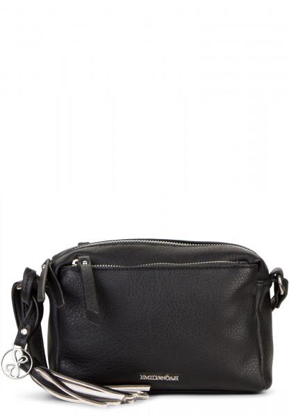 EMILY & NOAH Handtasche mit Reißverschluss Leonie klein Schwarz 62080100 black 100