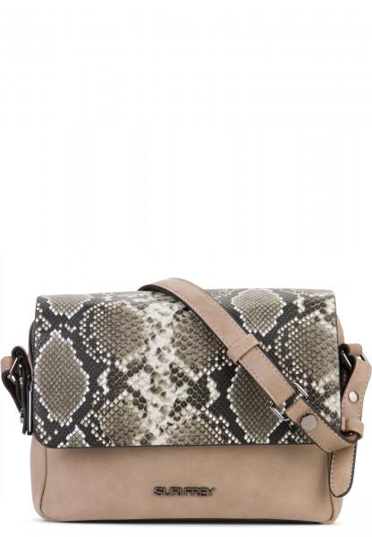 SURI FREY Handtasche mit Überschlag Claudy Beige 12083420 sand 420
