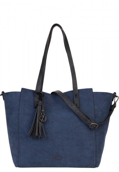 EMILY & NOAH Shopper Bag in Bag Surprise Blau 461500 blue 500