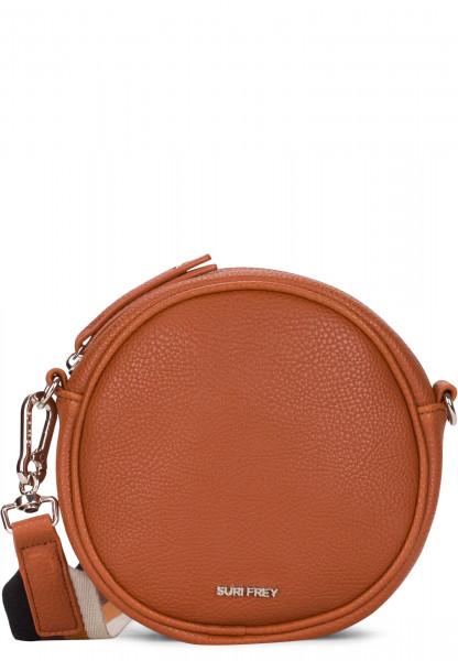 SURI FREY Handtasche mit Reißverschluss Bessy klein Braun 12380700 cognac 700