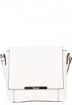 Tamaris Handtasche mit Überschlag Adriane mittel Weiß 30143300 white 300