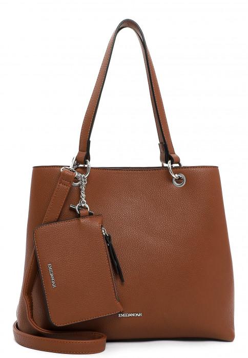 EMILY & NOAH Shopper Dora mittel Braun 62435700 cognac 700