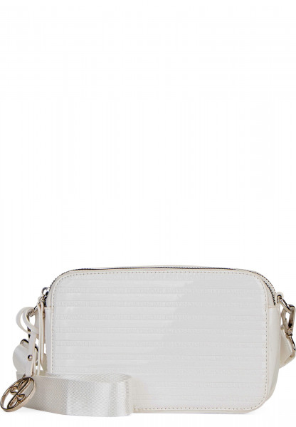 EMILY & NOAH Handtasche mit Reißverschluss Leslie klein Weiß 62200300 white 300