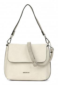 EMILY & NOAH Handtasche mit Überschlag Patty quer Grau 61443320 cement 320