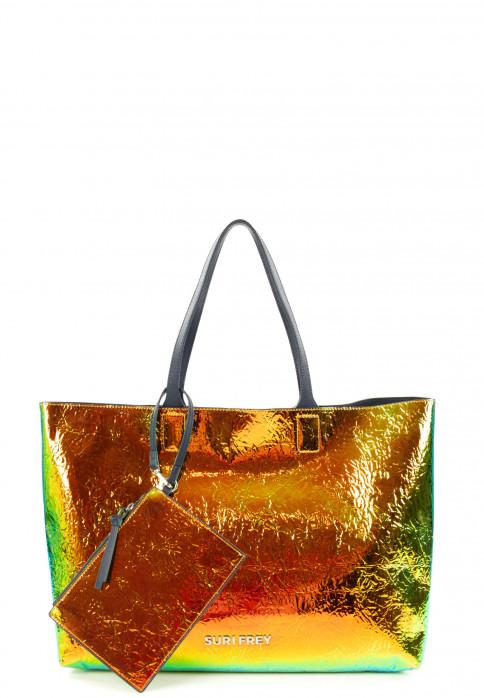 SURI FREY Shopper SURI Black Label Tiffany groß Bronze 16062220 bronze 220
