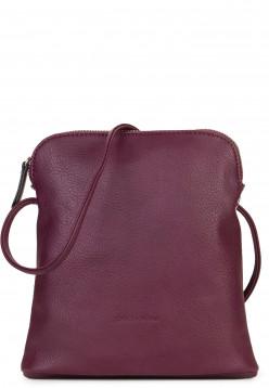 EMILY & NOAH Handtasche mit Reißverschluss Emma Rot 60395690 wine 690