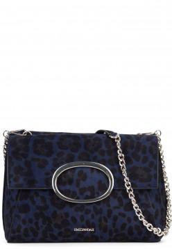 EMILY & NOAH Handtasche mit Überschlag Sarah-Leo Blau 61781500 blue 500