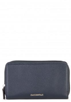 EMILY & NOAH Geldbörse mit Reißverschluss Luca Blau 62188500 blue 500