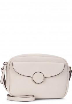 Tamaris Handtasche mit Reißverschluss Annika mittel Grau 30130320 ecru 320