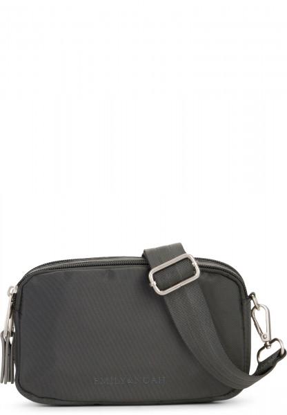 EMILY & NOAH Handtasche mit Reißverschluss Pina Grau 61700840 darkgrey 840