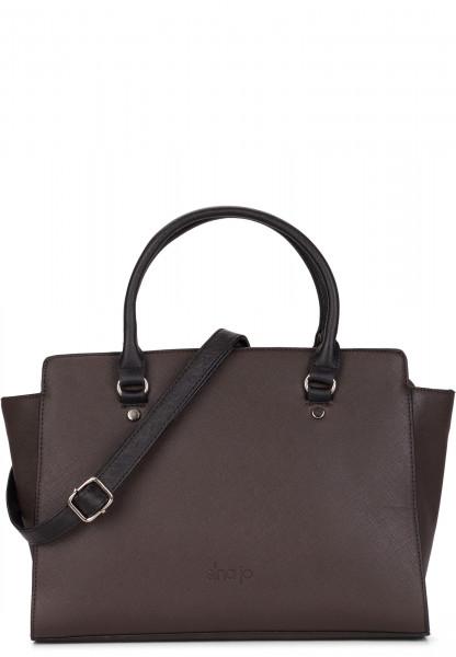 Sina Jo Shopper Jasmin mittel Braun 611200H brown 200H