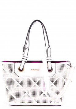 EMILY & NOAH Shopper Phia Special Edition Weiß 61660367 white pink 367