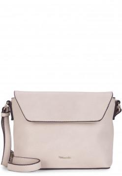 Tamaris Handtasche mit Überschlag Alessia klein Grau 30447320 ecru 320